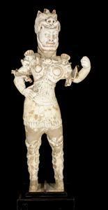 Image of Warrior Tomb Figure
