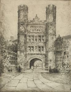 Image of The Owl Gate: Bryn Mawr College