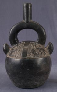 Image of Stirrup-Spout Bottle