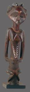 Image of Staff Finial Figure