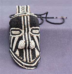 Image of Yet Royal Belt Pendant in Form of Miniature Mask