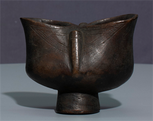 Image of Double Lipped Kopa (Cup) with Pedestal