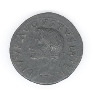 Image of Imperial Dupondius of Rome Issued by Tiberius