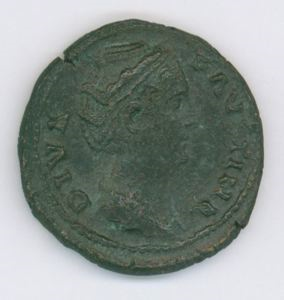 Image of Imperial As of Rome Issued by Antoninus Pius