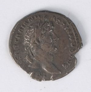 Image of Imperial Denarius of Rome Issued by Hadrian