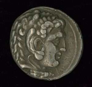 Image of Hellenistic Tetradrachm of Carrhae Issued by Seleucus I