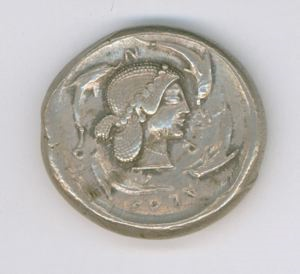 Image of Classical Tetradrachm of Syracuse
