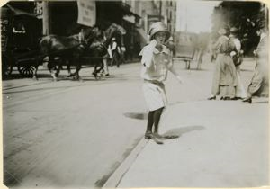 Image of Gafer Department Store Cash Girl, Mobile, Ala, 1914
