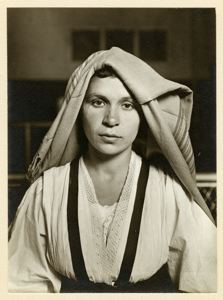 Image of Albanian Woman, Ellis Island
