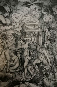 Image of Divine (Re)Productions: Italian Printmaking in the Sixteenth Century, from the Bryn Mawr College's Collections