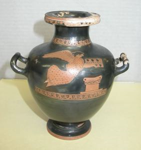 Image of Attic Red-Figure Hydria/Kalpis (Water Jar) with Nike