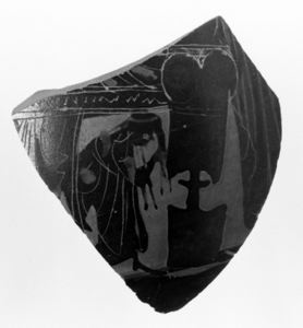 Image of Attic Black-Figure Sherd