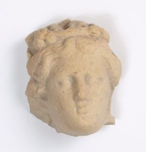 Image of Roman Terracotta Female Head with Diadem