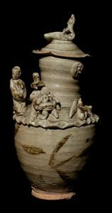 Image of Funerary Vase