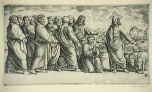 Image of Christ Appearing to the Twelve Apostles