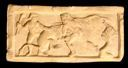 Image of Casket Panel with Hercules Fighting a Lion