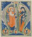 Image of Annunciation: Historiated initial M
