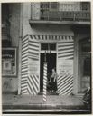 Image of Sidewalk and Shopfront, New Orleans