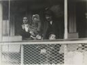 Image of Italian Family in Ferry Boat Leaving Ellis Island