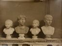 Image of Four Augustan Busts, Vatican Palace, Rome
