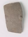 Image of Middle Iron Age Imported Silver-Gray Ware Base Sherd with Burnishing