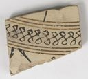 Image of Ionian White-Slip Wild Goat Style Body Sherd of Plate(?) with Painted Decoration
