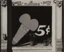 Image of Ice Cream Cone Sign, Bowling Green, Virginia