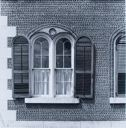 Image of Rippey Cobblestone Farmhouse Window, Ontario County
