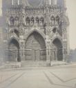 Image of Detail of the Western Facade of the Exterior of the Cathedral, Amiens