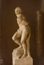Image of The Bound Slave, Michelangelo, Louvre Museum, Paris