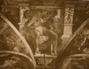 Image of Supporting Figure, Michelangelo, Sistine Chapel, Vatican Palace, Rome