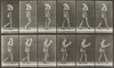 Image of Man Walking and Taking Off a Hat, Plate 44, Animal Locomotion