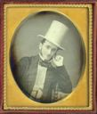 Image of Unidentified Man with Top Hat