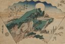 Image of Autumn Moon at Ishiyama (Ishiyama shugetsu), from the series Eight Views of Omi (Omi hakkei)