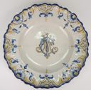Image of MCT Monogrammed Plate