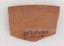 Image of Tunisian Red Slip Ware Dish Fragment