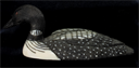 Image of Carving of a Common Loon