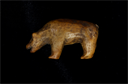 Image of Small Carved Bear Figurine