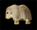 Image of Small Carved Musk Ox Figurine
