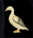 Image of Small Carving of a Duck