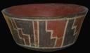 Image of Bowl with Geometric Step Design