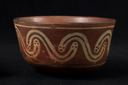 Image of Bowl with Snake Imagery