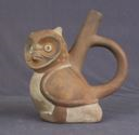 Image of Spout and Handle Vessel in the Form of an Owl