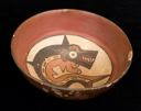 Image of Bowl with Mythical Killer Whale Imagery