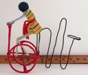 Image of Bicyclist Push Toy