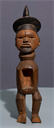 Image of Butti (Male Figure) with Bonga Cavity
