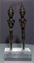 Image of Edan Ogboni (Pair of Figurated Staffs)