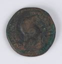Image of Hellenistic Copper Coin of Cyrenaica Issued by Ptolemaeus V, Epiphanes