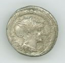 Image of Republican Denarius of Rome Issued by L. Manlius Torquatus