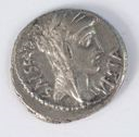Image of Republican Denarius of Rome Issued by Q. Cassius Longinus
